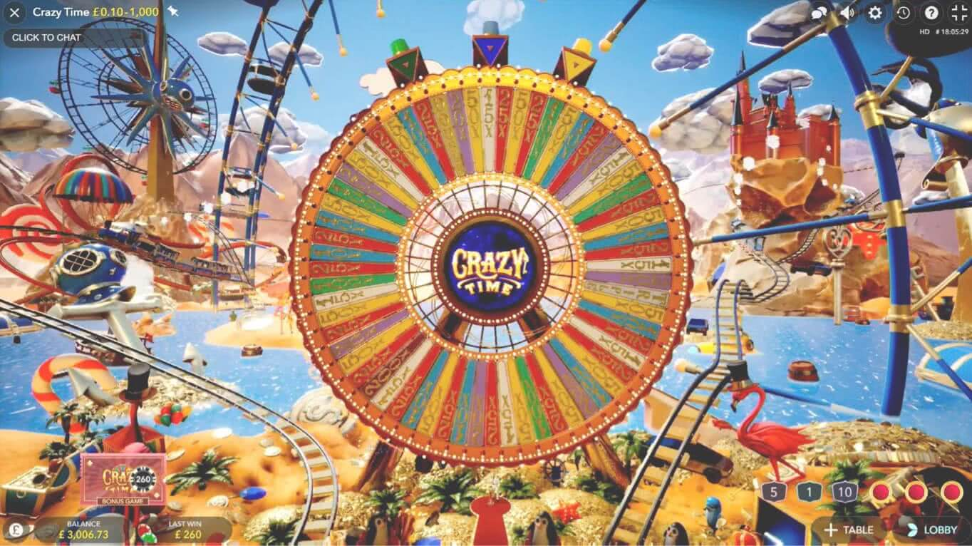 jugar crazy time
