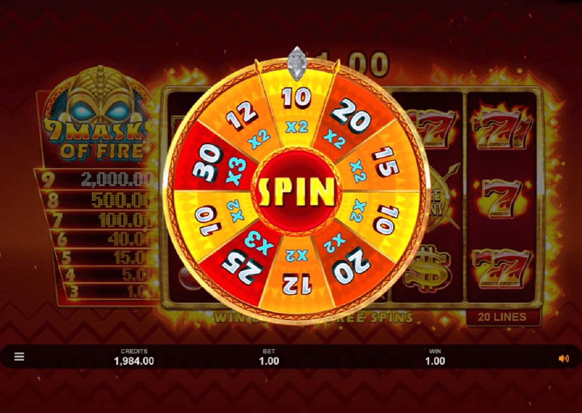 Casino 9 Masks of Fire