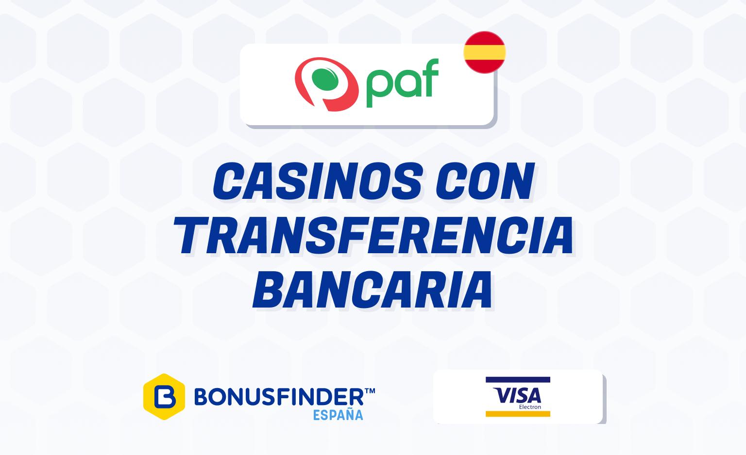 Casinos Online Que Aceptan Transferencias Bancarias