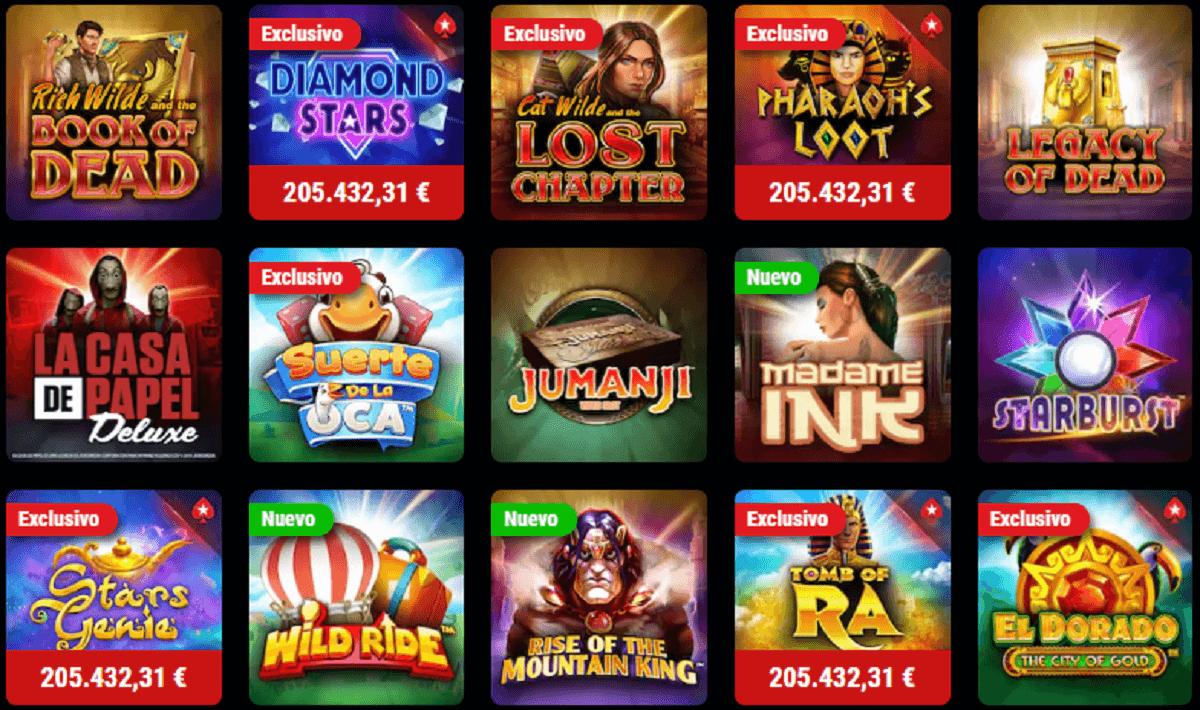 pokerstars casino gratis