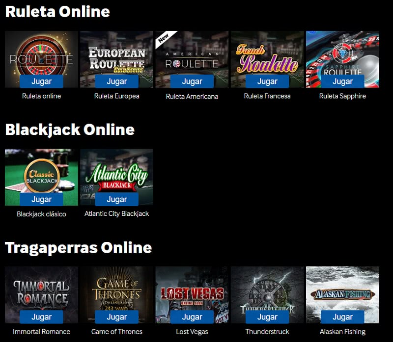 online casino espana