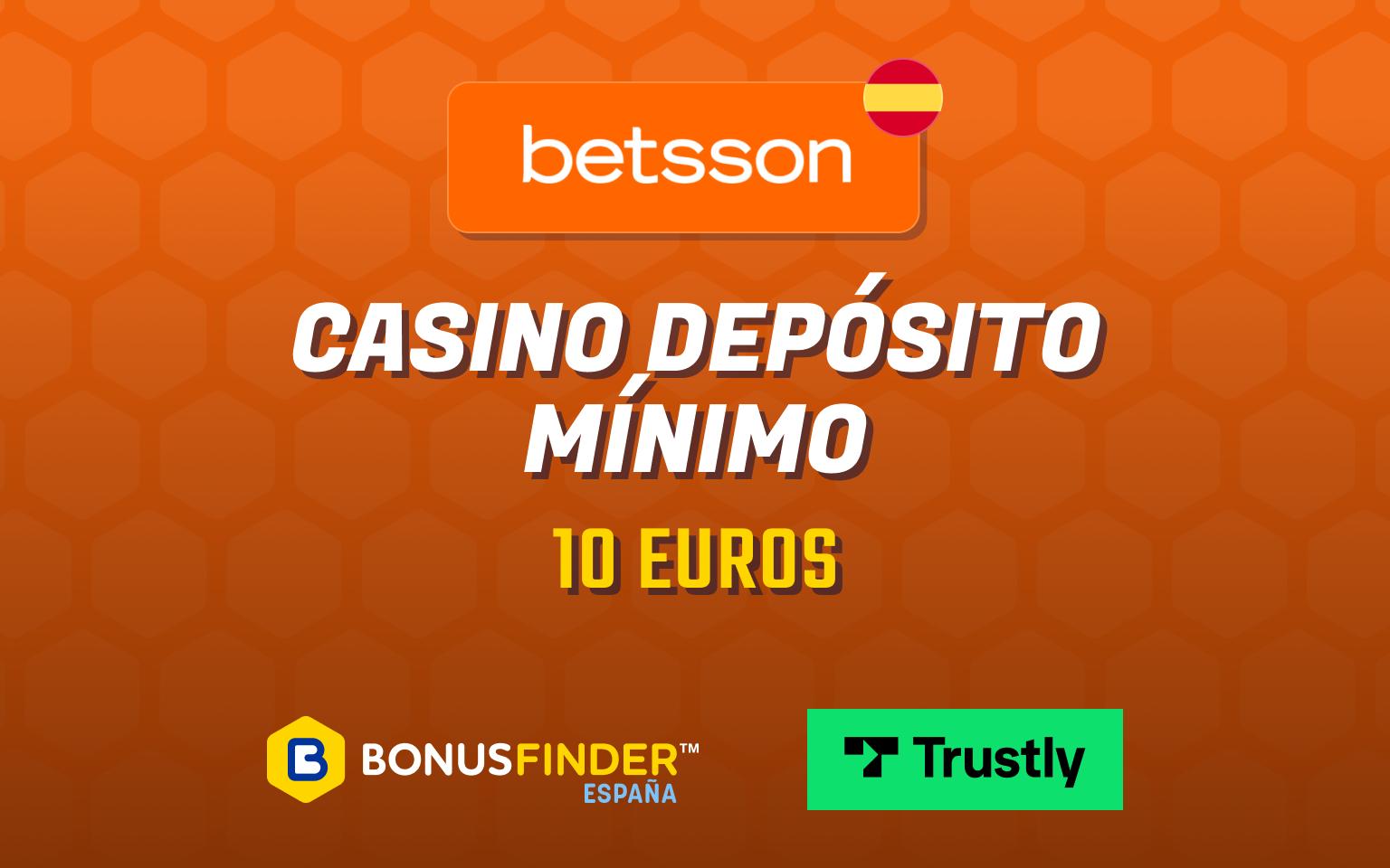 casino depósito mínimo