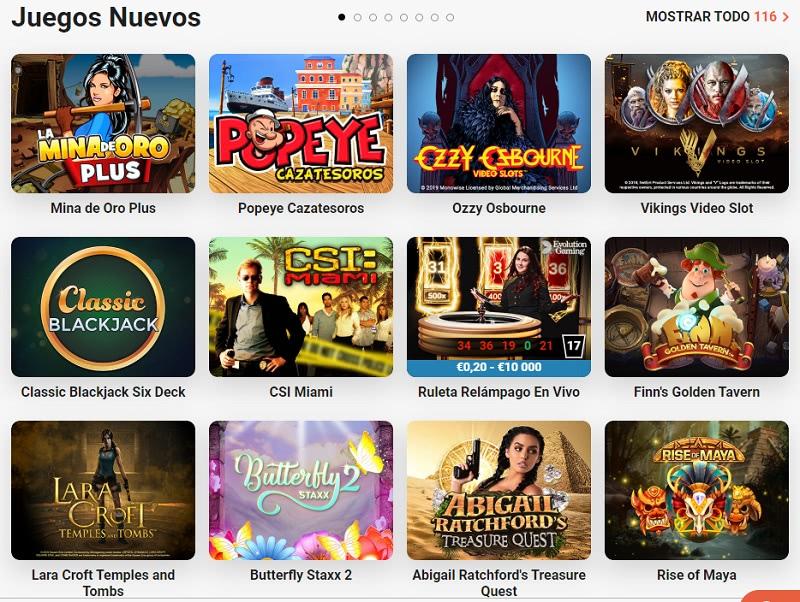 juegos nuevos espana