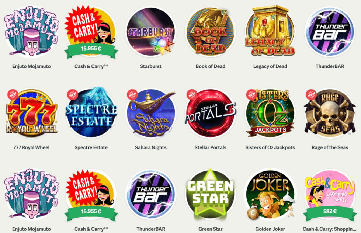 paf casino slots